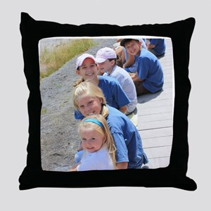 Add your Square Photo Throw Pillow